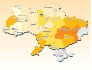 карта преступности украины