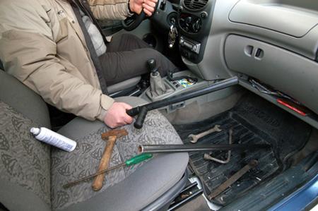 Самозащита за рулём авто
